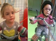 Pomagajmo deklici iz okolice Slovenskih Konjic: nujno potrebuje terapije za razvoj