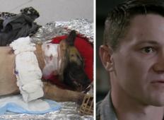 Psička prestregla krogle, ki so letele v vojaka in mu rešila življenje. Vojak je nato naredil nekaj ganljivega ...