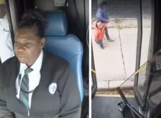 Šoferka avtobusa kršila pravilo, ko je videla majhni deklici na pločniku. S tem dejanjem je postala prava herojka ...