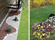 24 neverjetnih idej za vaš vrt! NEVERJETNO!