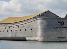 Izdelal je 150-metrsko repliko Noetove barke, ki sprejme 5000 ljudi!