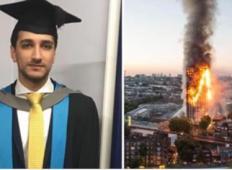 Sin je nesel svojo onemoglo mamo 24 nadstropij dol po stopnicah med požarom londonskega stolpa (D)