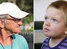 Vnuk s kričanjem in jokom želel manipulirati z dedkom, da bi mu kupil sladkarije. Dedek je ostal miren in ko je razkril resnico ...