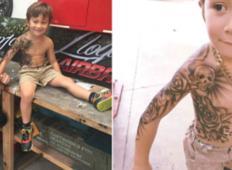 Umetnik dela tattooje za bolne otroke, da bi jim pomagal skozi težke dneve v bolnišnici