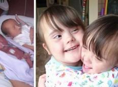Par dobil dvojčici, toda zdravnik jima pove »Žal mi je«. Nista se predala in šest let kasneje ...