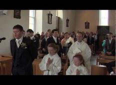 Nevesta pride v cerkev: kako jo počaka mladoženec, je čudovito ...