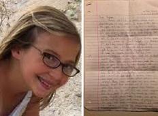 12-letna deklica napisala pismo sami sebi za 10 let naprej. Nikoli ga ni odprla, toda ko so ga našli starši ...