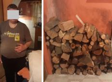 Srečko iz okolice Laškega nujno potrebuje drva. Mu lahko pomagate?