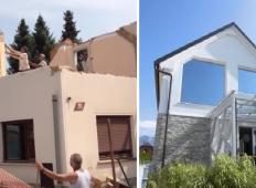 Ljubljančana sta se iz stanovanja preselila na vas. Za 150 tisoč evrov sta babičino hišo preuredila v pravi raj!