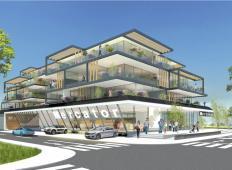 To je nova luksuzna zgradba v Ljubljani, kjer bo zraslo 26 stanovanj. Bi živeli tukaj?