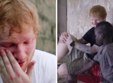 Ta otrok je pristal na ulici, bil je pretepen in oropan. Potem se je pojavil Ed Sheeran ...