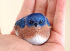 Ta umetnik poriše kamne in jih spremeni v podobe presunljivih malih živali!