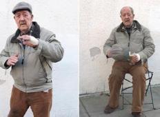 88-letni dedek je videl, kako je tolpa z noži napadla mlado žensko. Pognal se je proti njim in storil nekaj izjemnega ...