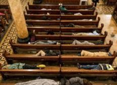 Tale cerkev je pustila, da brezdomci spijo notri. Ponudili so jim tudi odeje in masaže...