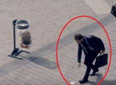 Prazen lonček je ležal na tleh zraven koša za smeti. Nihče ga ni pobral, potem pa se zgodi nekaj izjemnega ...