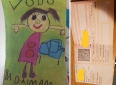 Pokvarjena Slovenija? 5-letna deklica mora plačati dohodnino zaradi risbice?!