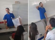 Učenci so izvedeli, da njihov učitelj ne dobiva plače in mora spati v šoli. Potem so stvari vzeli v svoje roke ...