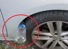 Bodite pozorni, to je nov trik tatov. Če za gumo avtomobila vidite plastenko, nikar ne storite tega ...
