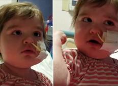 Ta deklica je prestala dve presaditvi kostnega mozga. Toda poglejte, kako se smeje in poje iz vsega srca ...