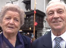 Ljubezenska zgodba iz Domžal: Star 88 let se je poročil z žensko, ki jo je ljubil v mladosti