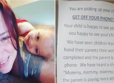 Ravnateljici vrtca je bilo dovolj, staršem je izobesila opozorilo: Izklopite telefon in posvetite raje pozornost svojemu otroku!