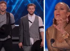 Mlada slovenska plesalca v plesnem šovu navdušila Jennifer Lopez. To jima je povedala po nastopu ...
