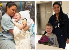5-letni fantek se je zbudil po operaciji v bolnišnici. Nihče ni bil ob njem, nato pa medicinska sestra stori tole ...