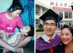 Njun sin se je rodil bolan. Oče ga je zapustil, mama ni obupala nad njim ... POGLEJTE, kje danes študira!