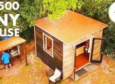 Ta moški živi na 9 kvadratnih metrih v hiški za 1400 evrov. Notranjost vas bo očarala!