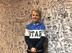 9-letni fant je imel težave z učitelji, ker je med poukom risal. Sedaj je dobil ponudbo, ki dokazuje, da so se učitelji motili!