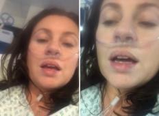 39-letna ženska je bila pred tem popolnoma zdrava. Potem je dobila koronavirus in to so POSLEDICE!