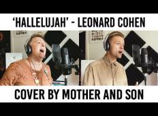 Mati in sin zapela pesem Hallelujah. Njun nastop je navdušil internet!