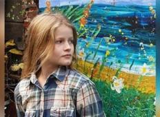 10-letnica zaslužila več kot 65 tisoč dolarjev s prodajo slik. Celoten zaslužek je podarila v dobrodelne namene!