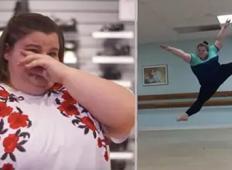 Norčevali so se iz njene teže. Tako jih je utišala s plesnim talentom!